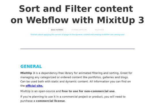 mixitup-webflow-tutorial - Webflow