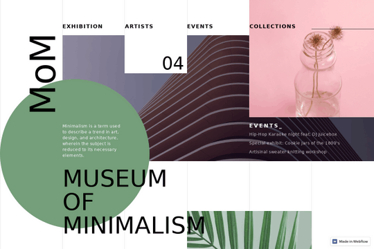 Examples of Webflow CSS Grid - Show & Tell - Webflow Forums
